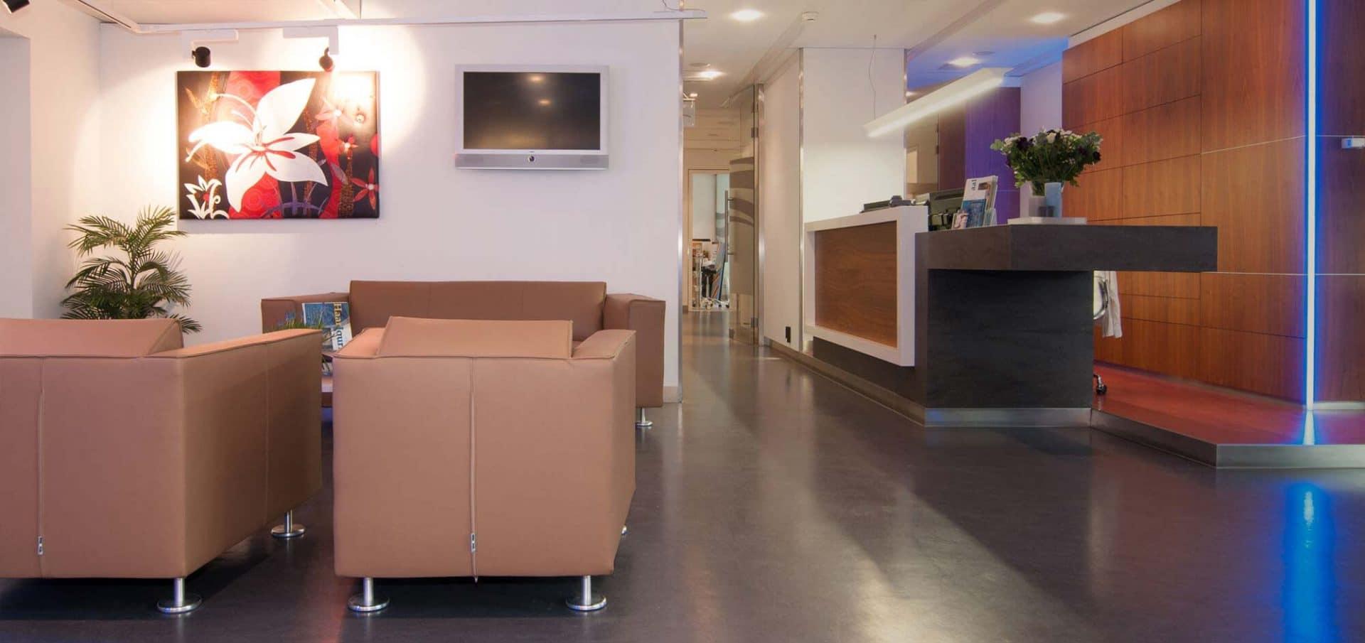 Clinic HSI Amsterdam Lounge